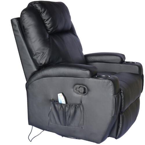 Homcom® Massagesessel mit Heizfunktion » Sessel - neutrale