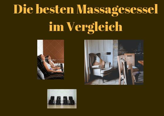 Massagesessel Test Bild